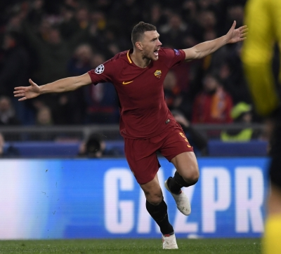 Champions league: Roma beat Shakhtar to enter QF