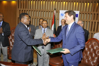 Sudan, EU sign MoU on combating terrorism