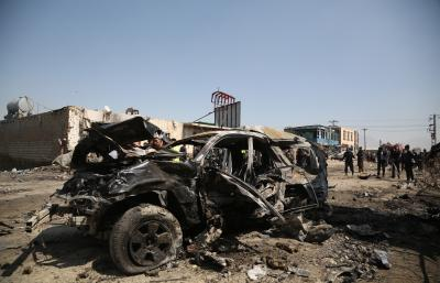 8 soldiers killed in Afghan suicide bombing