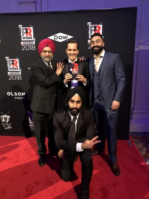 We Are Sikhs  campaign wins top US award
