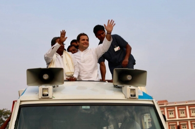 Scared Modi government stalling no-trust vote, mocks Rahul