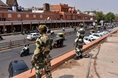 Security up in R'sthan after reports of terrorists' entry