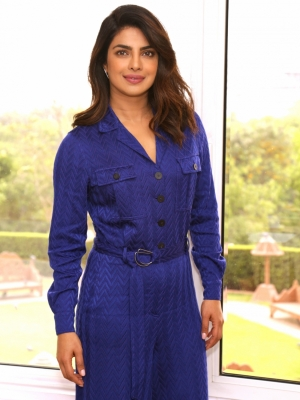 Priyanka s  homecoming  to Bollywood with  Bharat