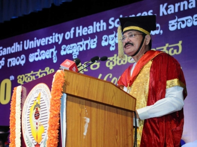 Naidu calls for affordable healthcare in rural India