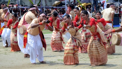 Assam turns festive for Rongali Bihu