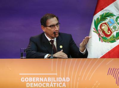 Peruvian Prez rejects audio recordings linking him to fraud