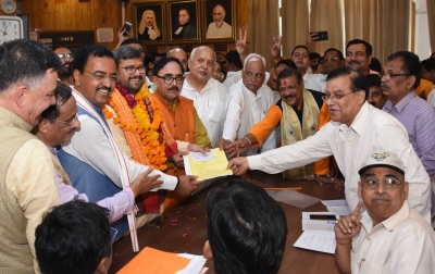 BJP nominees file papers for UP Legislative Council polls
