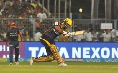 IPL: KKR ride Rana, Russell heroics to post 200/9 vs Delhi