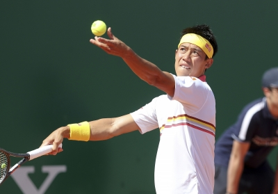 Nishikori battles past Dimitrov at Italian Open