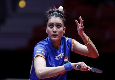 3 Indians join Manika in women singles main draw