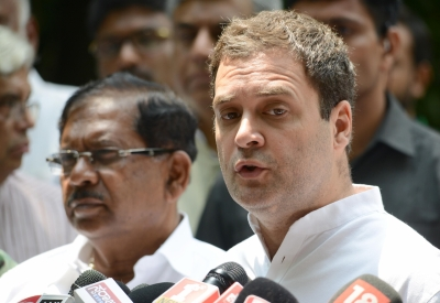 Rahul greets Wayanad woman for clearing UPSC exam