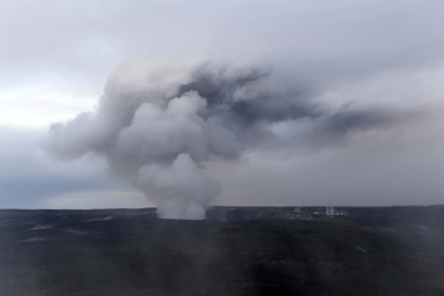 Laze  warning issued as Hawaiian lava reaches sea