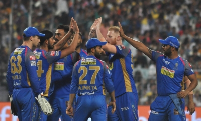 IPL: KKR edge closer to playoffs with easy win against Royals (Lead)
