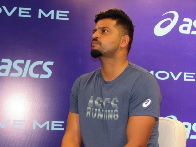 Suresh Raina knows the best way to watch cricket