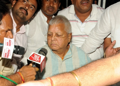 Lalu walks out of jail on provisional bail