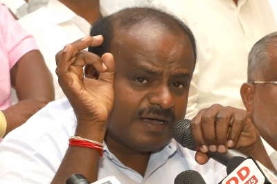 Kumaraswamy responds to Modi s fitness challenge (Lead)