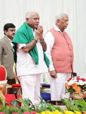 Yeddyurappa confident of being in power for 5 years