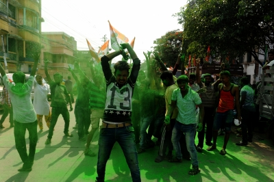 Trinamool looks to sweep Bengal Panchayat polls, BJP in second spot (Second Lead)