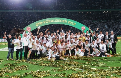 Frankfurt upset Bayern 3-1 to clinch German Cup