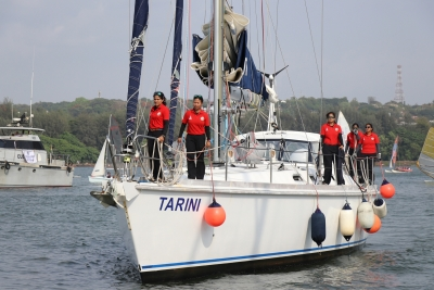 Tarini  women now eye solo sailing