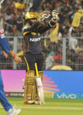 IPL Playoffs: All-round KKR see off Royals to make Qualifiers 2 (Lead)