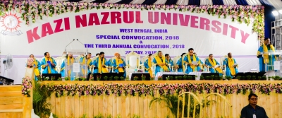 Hasina conferred honorary D.Litt by Kazi Nazrul University (Lead)