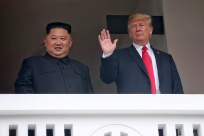 Trump shares letter from Kim, touts progress in talks