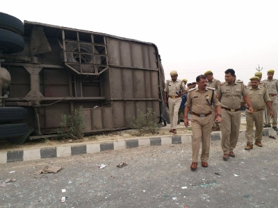 17 killed in UP accident