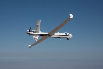 NASA s unmanned aircraft flies solo through US public airspace