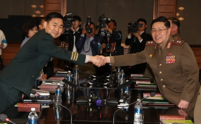 Koreas begin first military talks after 10 years