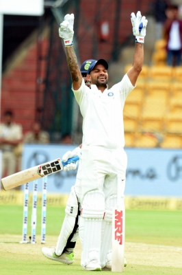 Scoring century in single session was great thing: Dhawan