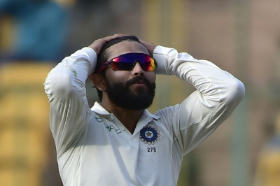 Jadeja fifty helps India to 297 against WI (Lunch report)