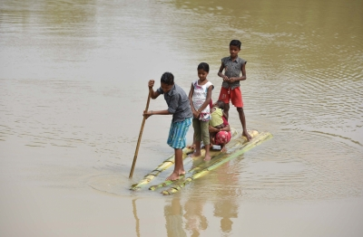 Flood situation shows improvement in Assam
