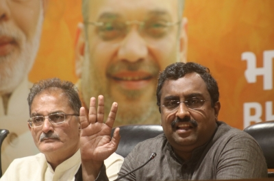 India, China resolved border disputes in large parts: Ram Madhav