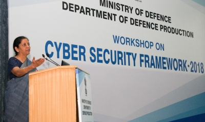 Defence sector more prone to cyber threats: Sitharaman