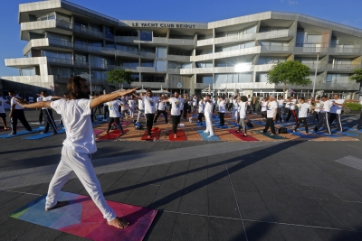 Can yoga make the cut for Olympics? (Comment)