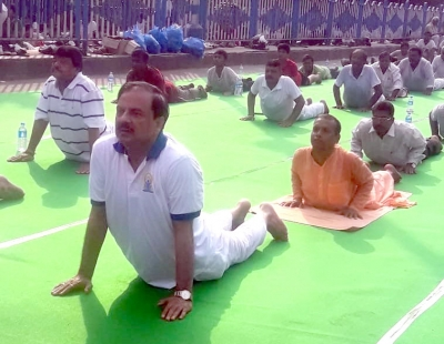 International Yoga Day celebrated with enthusiasm in Bengal