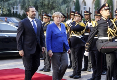 Merkel voices support for Lebanon s reforms