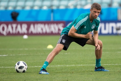 Bayern s Mueller in danger of being omitted from Germany squad