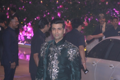 Karan Johar emotional to walk ramp at Royal Opera House