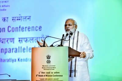 India can play a major role in unstable world for world peace: Modi