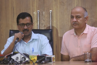 Kejriwal, Sisodia hit out at Centre for obstructing Delhi government projects