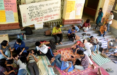 JU row: Students continue hunger strike, authorities seek advisory from Chancellor