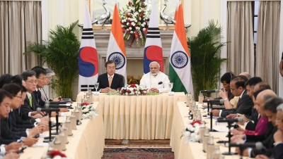 India, South Korea sign 11 agreements