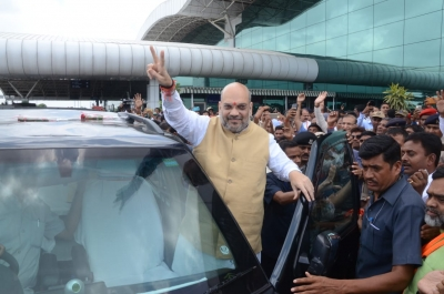 Amit Shah in Bihar, breakfasts with Nitish
