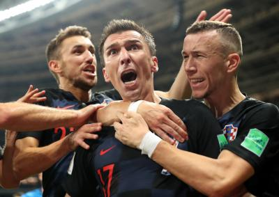 Croatians celebrate World Cup triumph