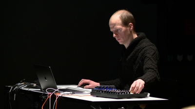 Swiss musician intrigues with digital sound concert