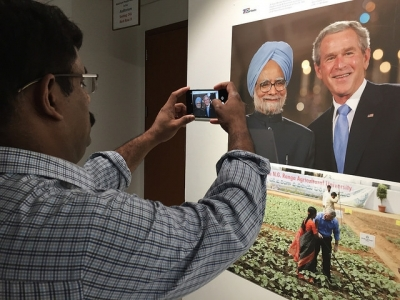 Photographs bring alive 70 years of Indo-US relations