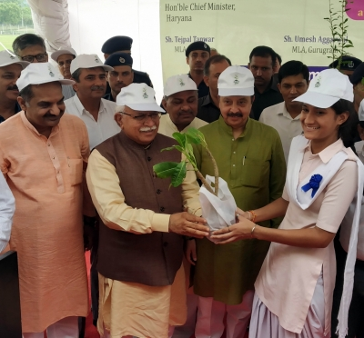 Haryana launches plantation drive in Gurugram