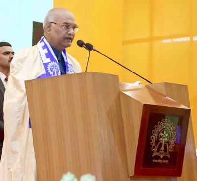 Kovind concerned over skewed gender ratio in IITs